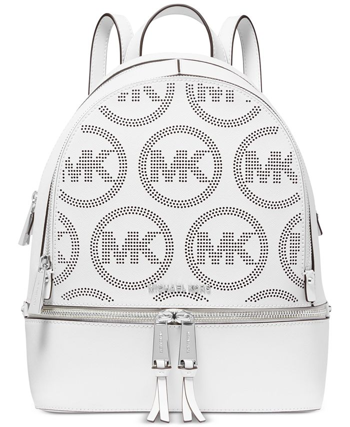 Michael Kors - Rhea Zip Medium Leather Backpack