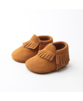 Friends Baby Girl and Boy Moccasins