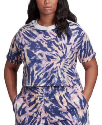 adidas Plus Size Cropped T-Shirt