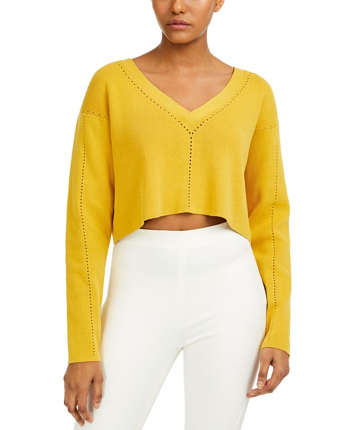 French Connection - V-Neck Crop Top