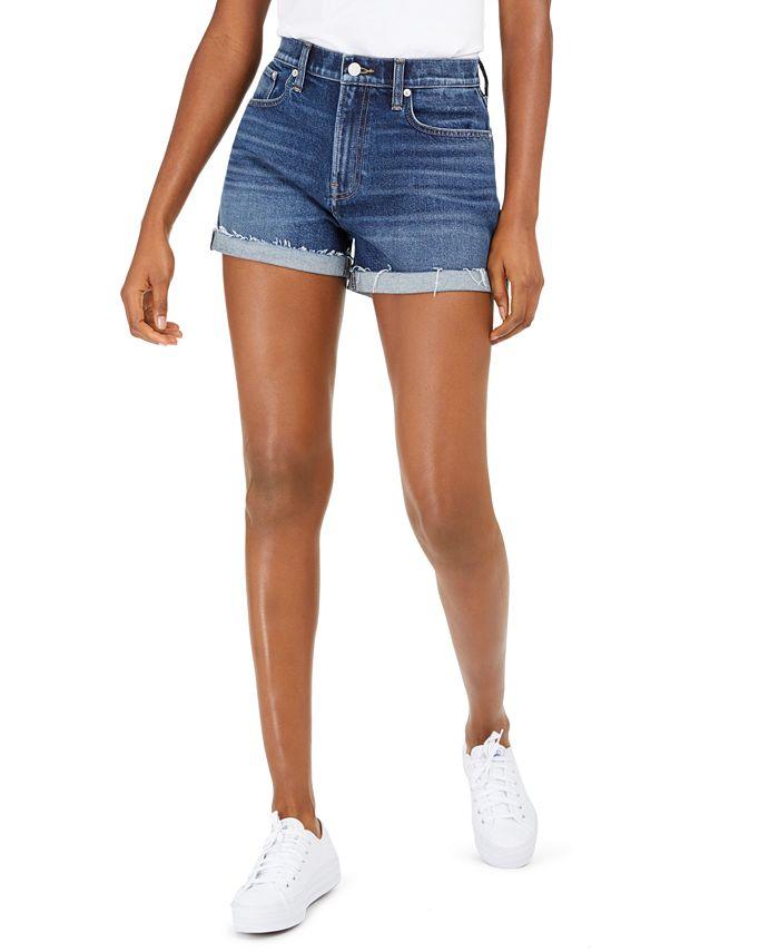 Lucky Brand - Relaxed Cuffed Denim Shorts
