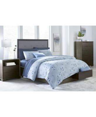 Morgan Storage Bedroom Furniture, 3-Pc. Set (King Bed, Nightstand & Chest), Created for Macy's