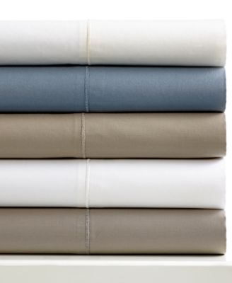 Hotel Collection Pair of 400 Thread Count MicroCotton Solid Standard Pillowcases