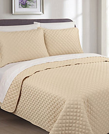 Palazzo 3 Piece Cotton King Quilt Set