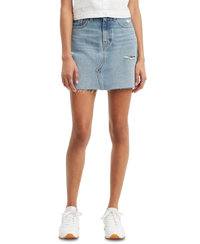 Levi's - Women's Cotton Denim Mini Skirt