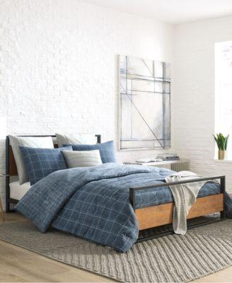 Holden Grid Twin Comforter Set