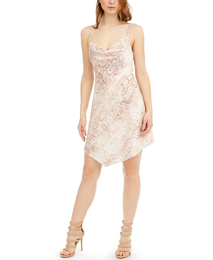 GUESS - Lucy Snake-Embossed Dress