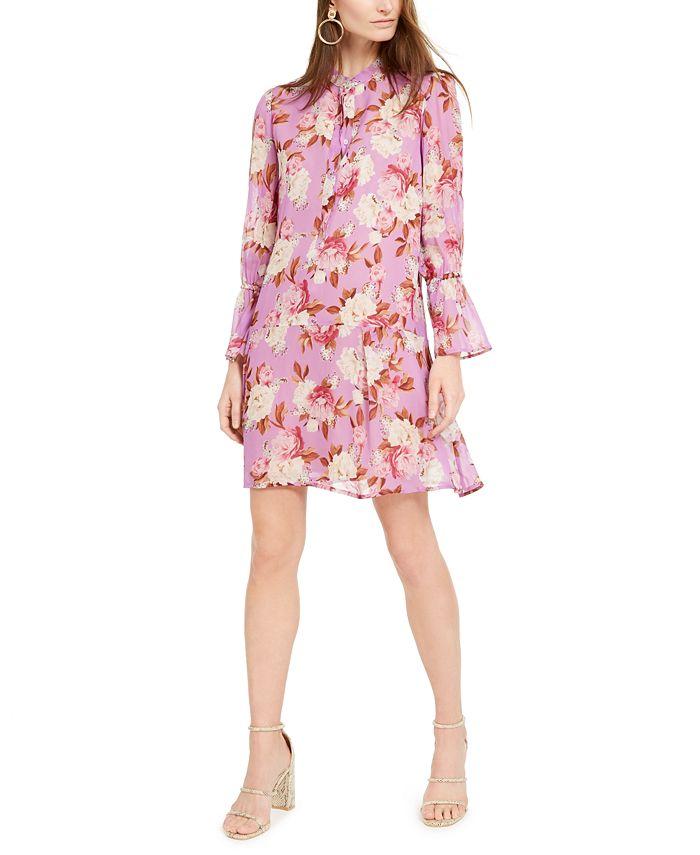 Marella - Floral-Print Mini Dress