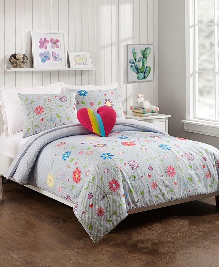 Jessica Simpson - Growing Garden 3-Piece Twin Comforter Set