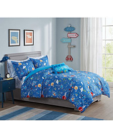 Astro Glow-In-The-Dark 7-Pc. Full  Comforter Set