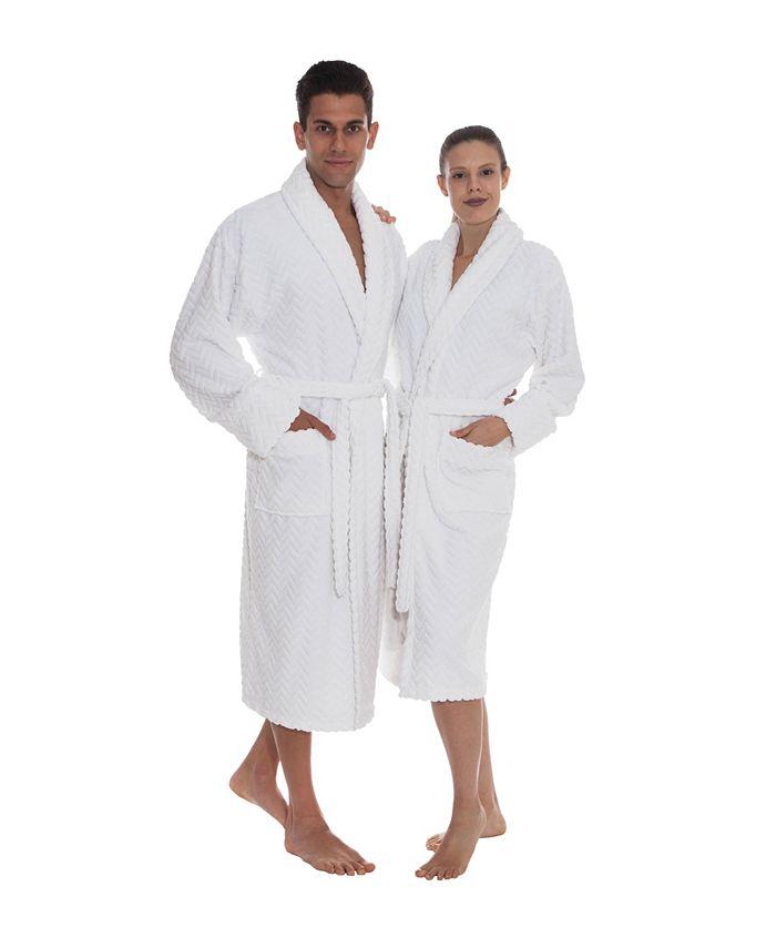 OZAN PREMIUM HOME - Crown Unisex Bath Robe
