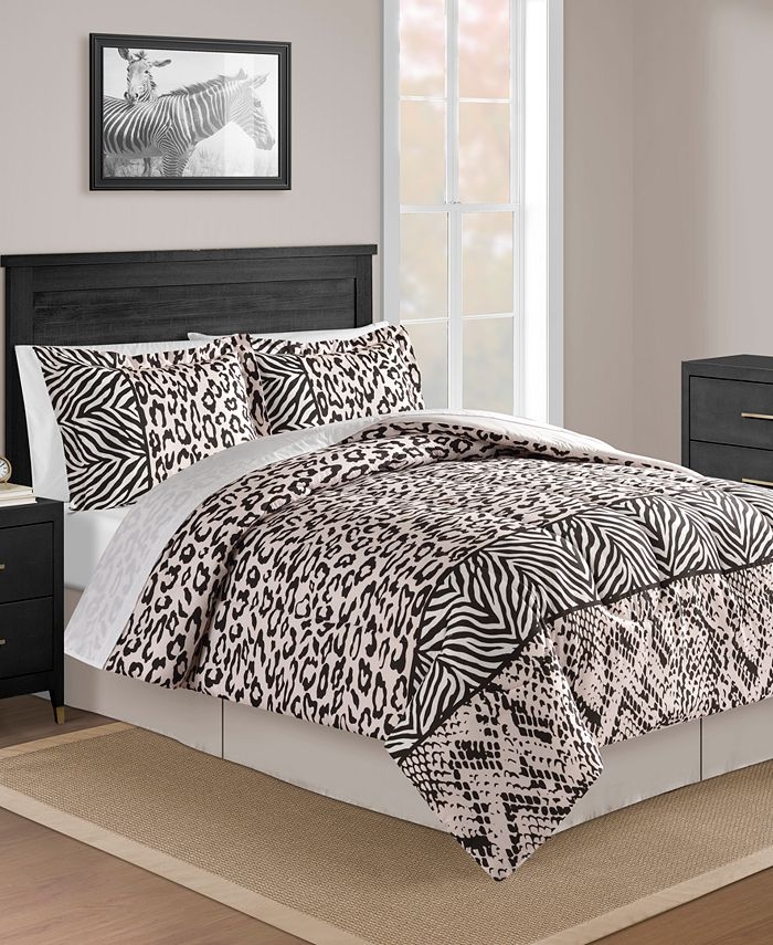 Fairfield Square Collection - Safari Blush 8-Pc. Comforter Set