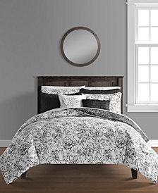 June 8-Pc. Full/Queen Comforter and Quilt Set