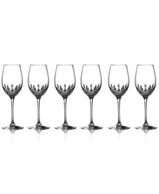 Waterford Stemware, Lismore Essence Goblets, Set of 6