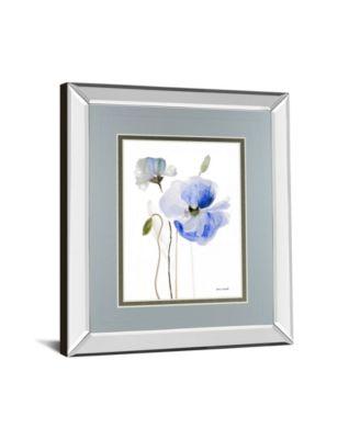 All Poppies I by Lanie Loreth Mirror Framed Print Wall Art, 34