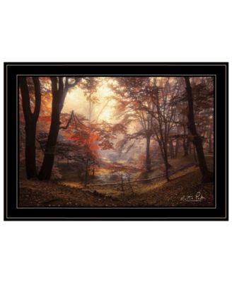 The Pool by Martin Podt, Ready to hang Framed print, White Frame, 27