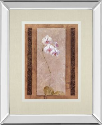 Contemporary Orchid II by Carney Mirror Framed Print Wall Art, 34