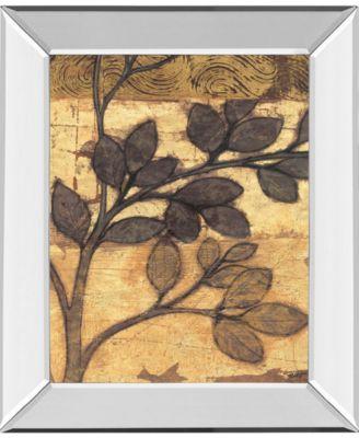 Bronzed Branches I by Norman Wyatt Jr. Mirror Framed Print Wall Art, 22