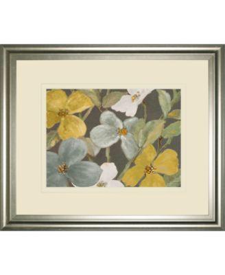 Garden Party in Gray 2 by Lanie Loreth Framed Print Wall Art, 34