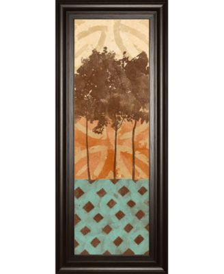 Tribal Trio II by Alonzo Saunders Framed Print Wall Art, 18