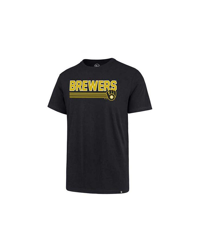 '47 Brand - Men's Milwaukee Brewers Line Drive T-Shirt