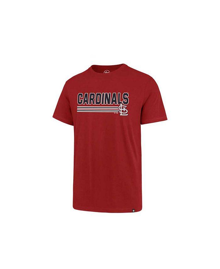 '47 Brand - Men's St. Louis Cardinals Line Drive T-Shirt