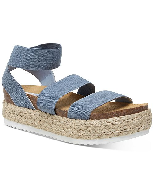 Steve Madden Women S Kimmie Flatform Espadrille Sandals Reviews Sandals Shoes Macy S Free shipping available on orders above $1,999 mxn! kimmie flatform espadrille sandals