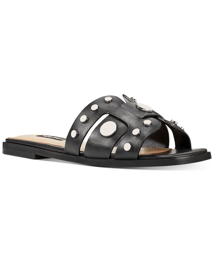 Nine West - Gema Studded Slide Sandals