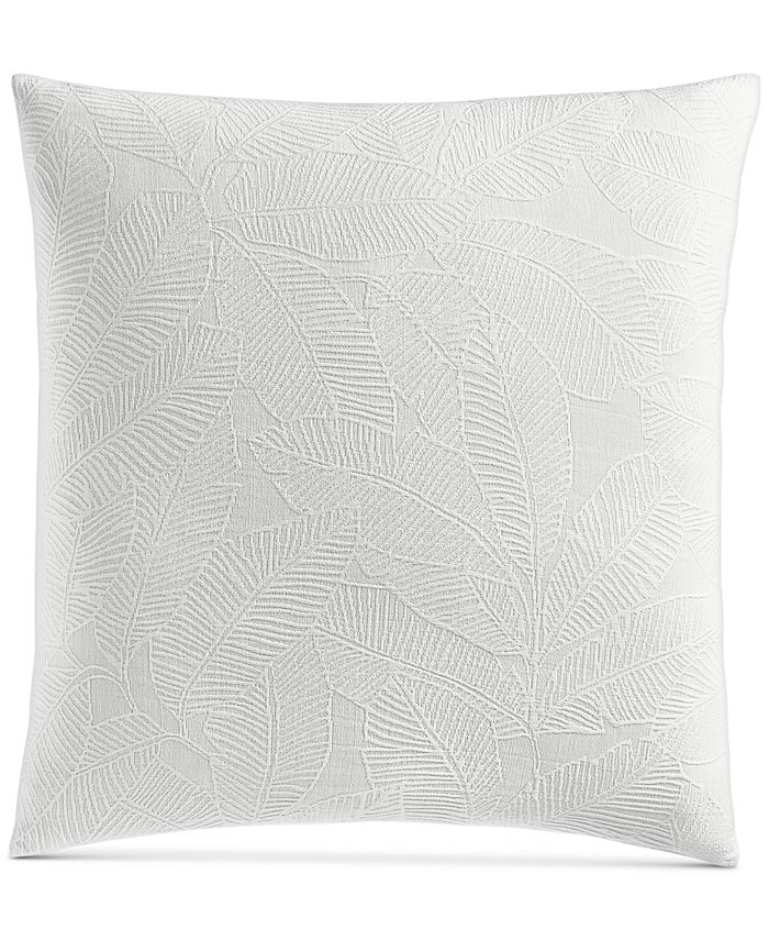 "Charter Club - Damask Designs Woven Leaves Cotton 258-Thread Count 26"" x 26"" European Sham"