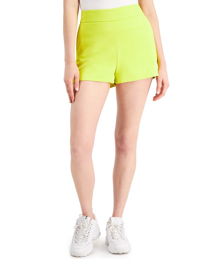 Bar III - High-Waisted Shorts