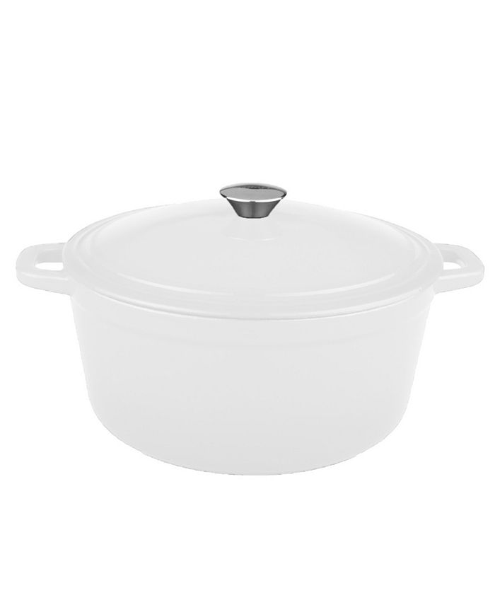 BergHOFF - Neo Collection Cast Iron 5-Qt. Oval Covered Casserole