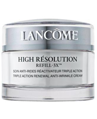 High Résolution Refill-3X Anti-Wrinkle Moisturizer Cream SPF 15, 1.7 oz