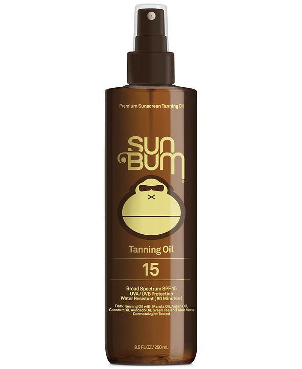 Sun Bum Premium Tanning Oil SPF 15, 8.5-oz.