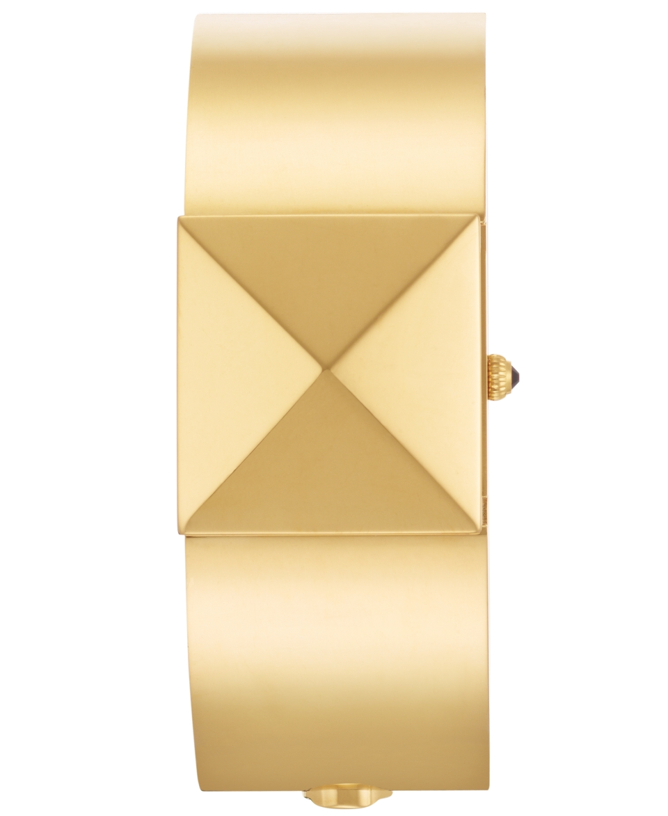 kate spade new york Watch, Womens Delacorte Slide Cover Gold Tone Bangle Bracelet 25mm 1YRU0249   Watches   Jewelry & Watches