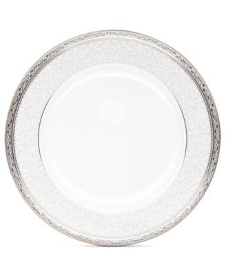 Noritake Dinnerware, Odessa Platinum Dinner Plate