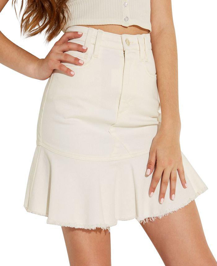 GUESS - Bloom Peplum Mini Skirt
