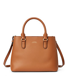 Lauren Ralph Lauren Smooth Leather Marcy II Satchel