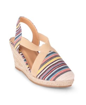 Wanted Essex Women's Closed Toe Wedge