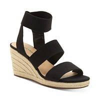 Deals on Lucky Brand Women's Mindara Wedges Sandals