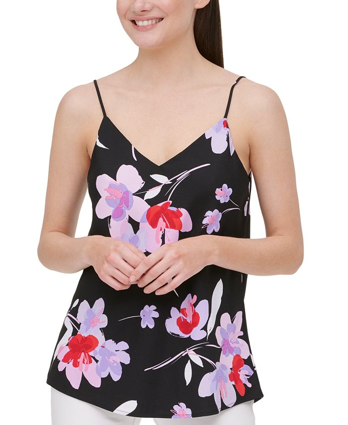 Calvin Klein - Floral-Print Camisole