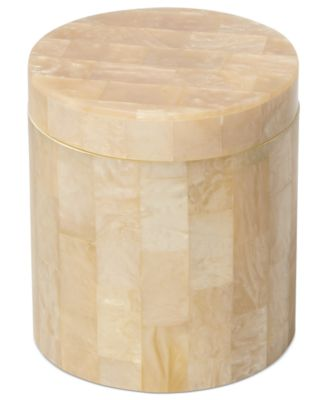 Roselli Trading Company Mother of Pearl Canister