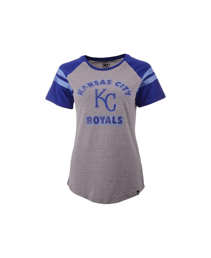 '47 Brand - Kansas City Royals Women's Fly Out Raglan T-shirt