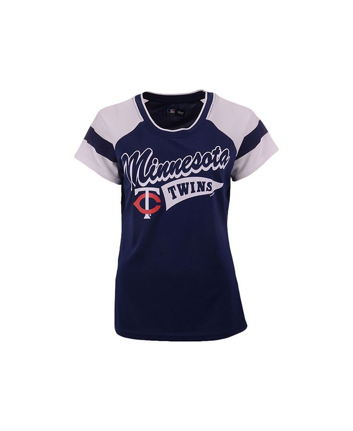 G-III Sports - Women's Minnesota Twins Biggest Fan T-Shirt