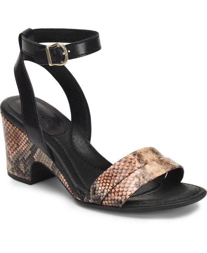 Born - Frilli Natural Snake Sandals