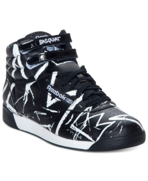 Reebok Womens Shoes Basquiat Freestyle Hi Athletic Casual Sneakers