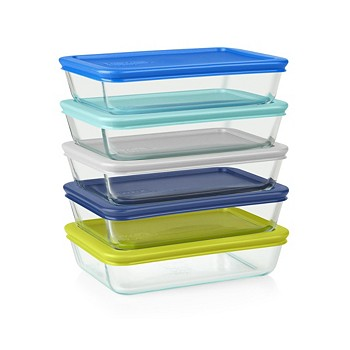 10-Piece Pyrex Simply Store Meal Prep Container Set