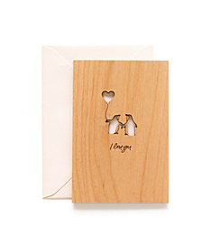 Hereafter Peguin Love Card