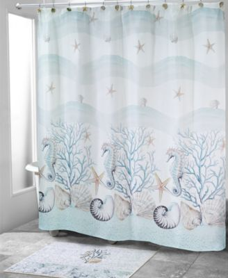 Coastal Terrazzo Shower Curtain