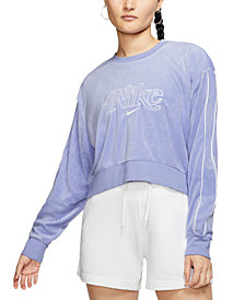Nike Women's Cropped Terry Top