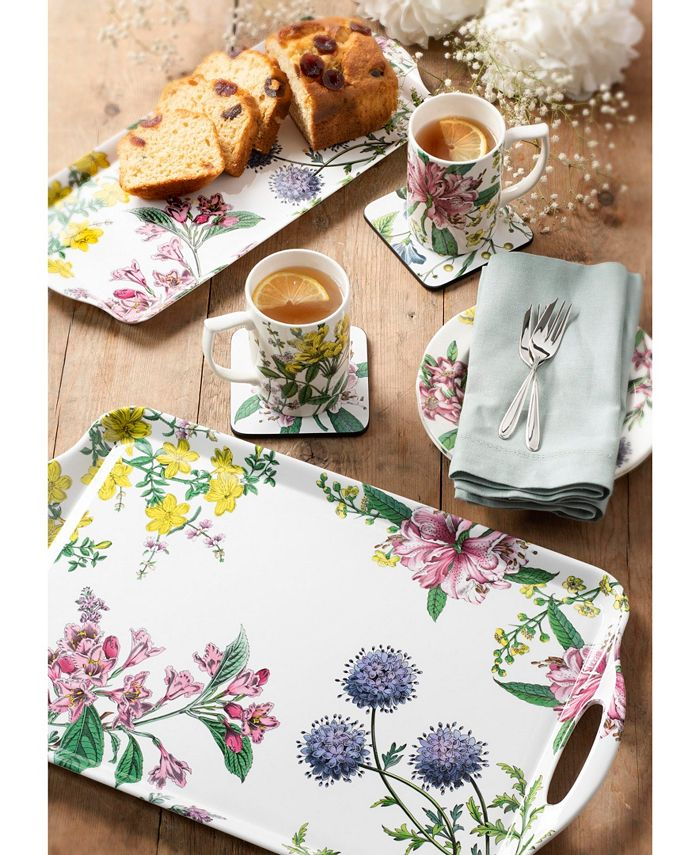 Spode Pimpernel Stafford Blooms Coasters Set Of 6 Reviews Table Linens Dining Macy S